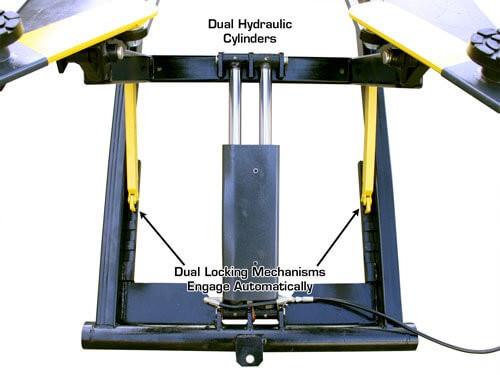 Lift King Portable MR-06 Mid-Rise Scissor Lift Image 05