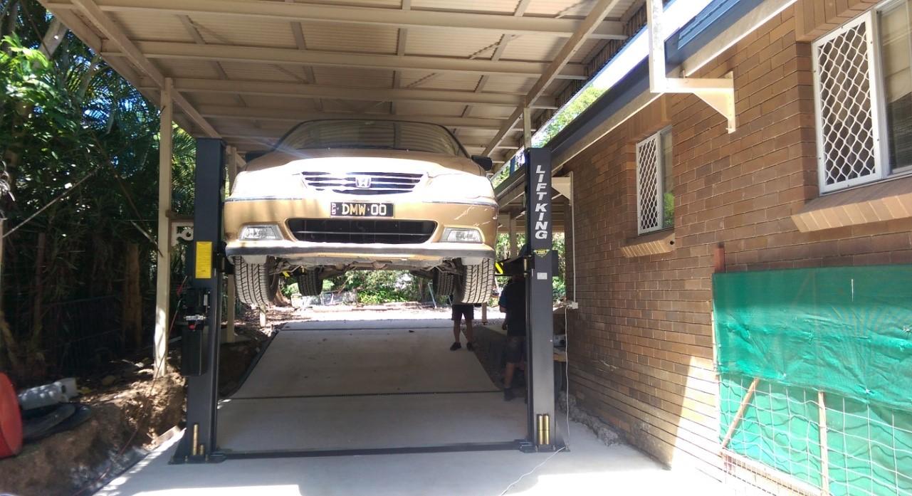 Base on Floor Auto Hoist 7/2-Post & 9/2-Post Image 05
