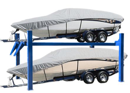 Boat & Caravan 4-Post Parker Hoist Image 01