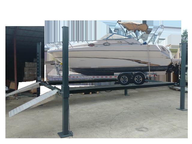 Boat & Caravan 4-Post Parker Hoist Image 14