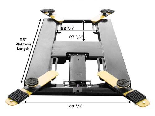 Lift King Portable MR-06 Mid-Rise Scissor Lift Image 10