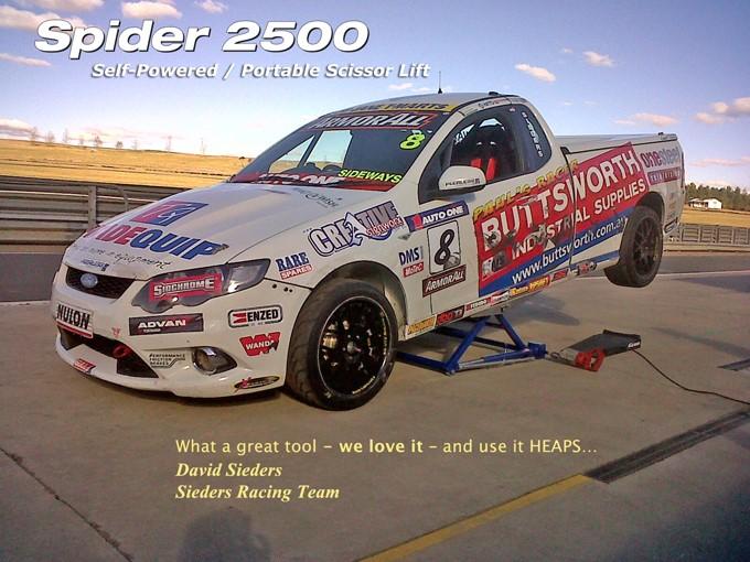 spider 2500 mini scissor lift Image 02